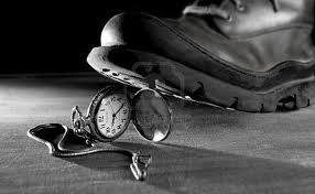Pisar un reloj